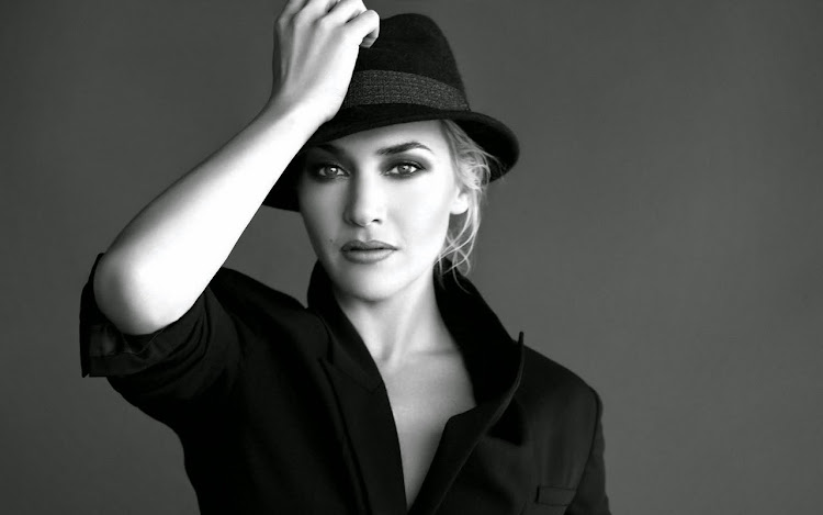 Kate Winslet Beautiful Black&White Style Photography
