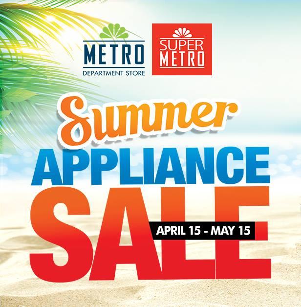 Manila Shopper Metro Summer Appliance Furniture Sale AprMay 2016
