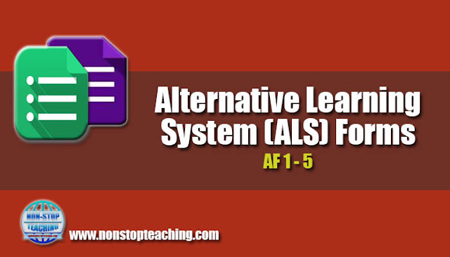 Alternative Learning System (ALS) Forms