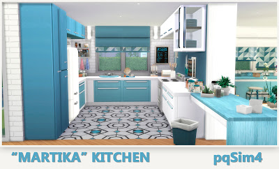 Martika living and dining sims 4 custom content - Isletas de cocina ...