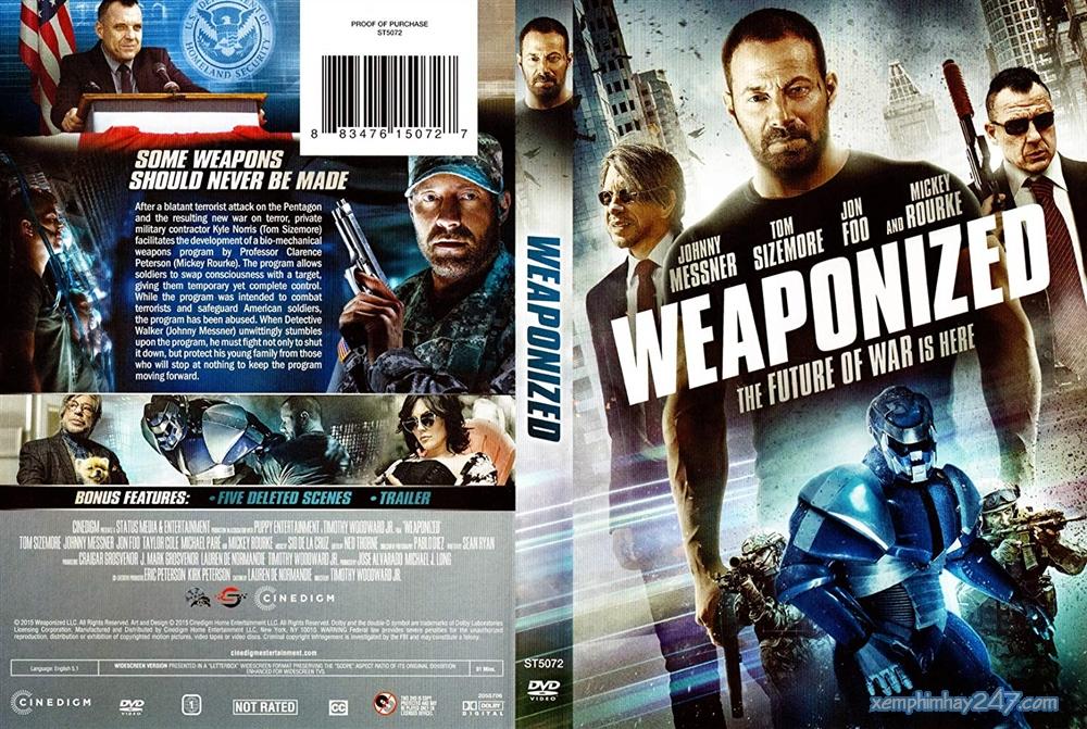 http://xemphimhay247.com - Xem phim hay 247 - Vũ Khí Tối Mật (2016) - Weaponized (2016)