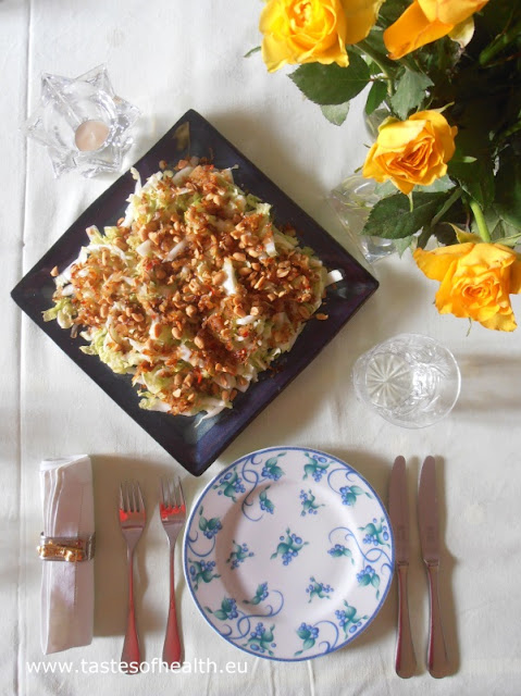 Chinese salad, Chinese cabbage, salad, vegetarian,recipe, recipes, healthy