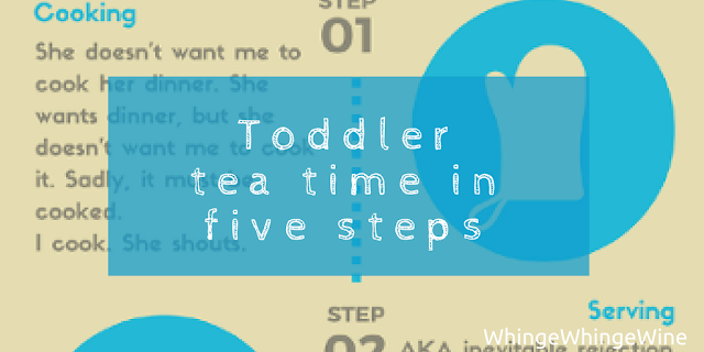 How to cook tea for your toddler with success. Toddler tea time: A simple five step process