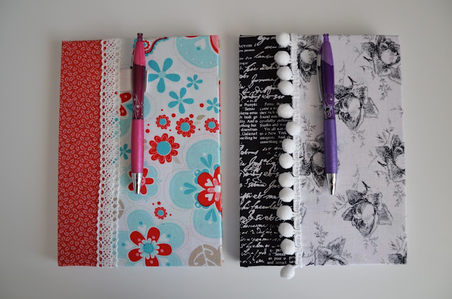 easy handmade fabric covers