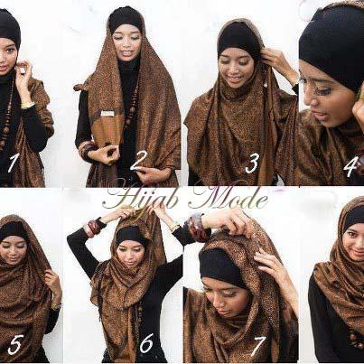 hijab moderne comment mettre le hijab hijab et voile mode style mariage et fashion dans l 39 islam. Black Bedroom Furniture Sets. Home Design Ideas