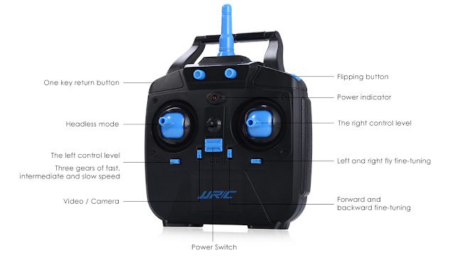 JJRC H23 quadcopter transmitter