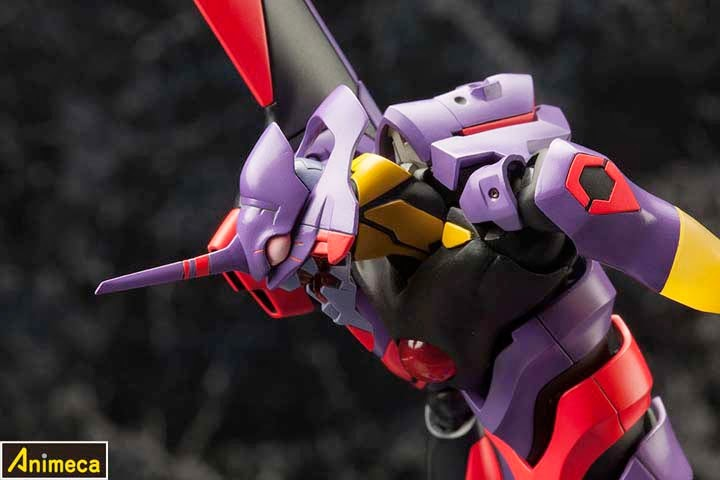 MODEL KIT 1/400 Regular Humanoid Type Weapon Artificial Human EVA 01 Awakened Ver. Rebuild of Evangelion
