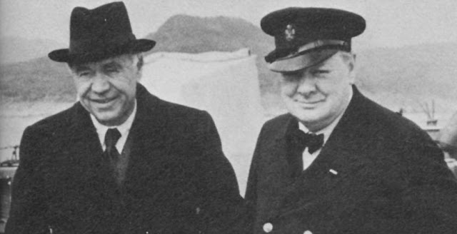 Lord Beaverbrook and Winston Churchill. 29 June 1941 worldwartwo.filminspector.com