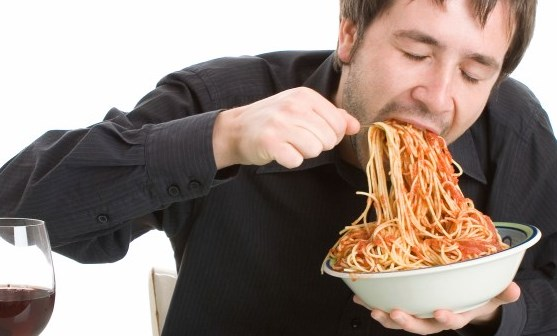 makan tergesa gesa