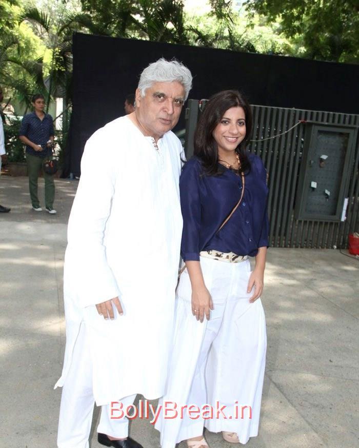 Javed Akhtar, Zoya Akhtar, Anushka Sharma Priyanka Chopra Hot Pics At 'Dil Dhadakne Do' Music Launch Photo Gallery