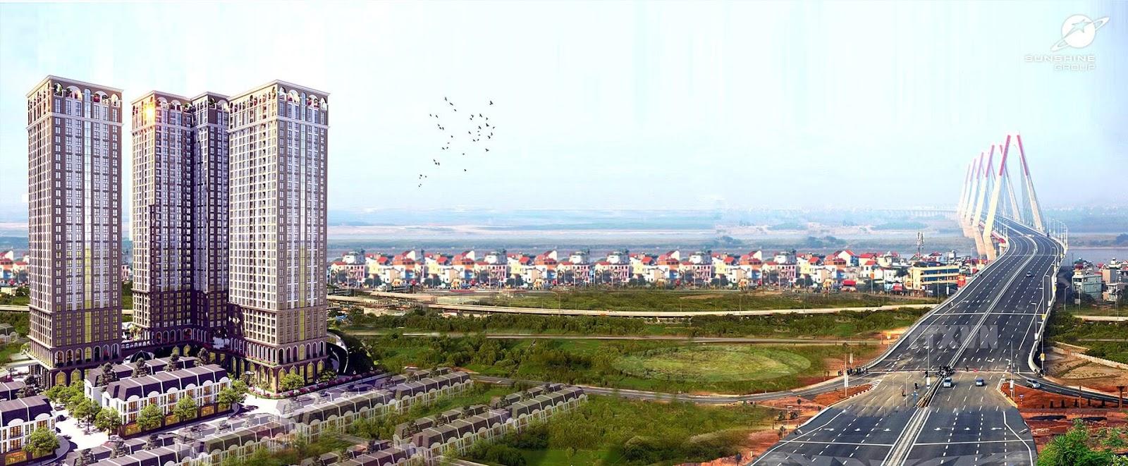 Một dự án bất động sản tại Hà Nội.