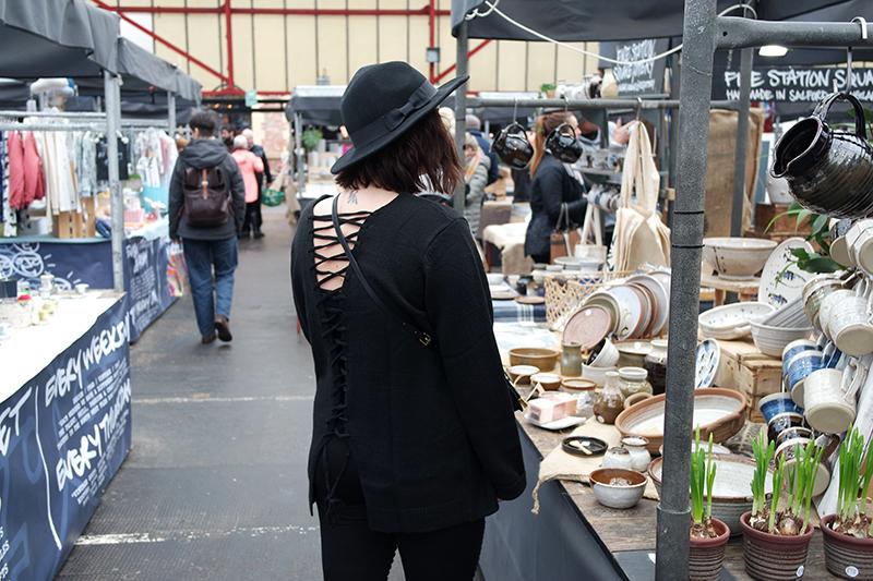 Browsing Stalls Altrincham Market