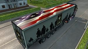 American Army trailer mod