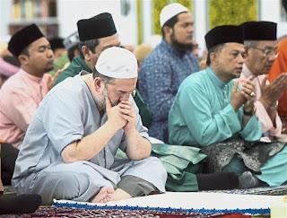 Sultan Kelantan di hari raya korban
