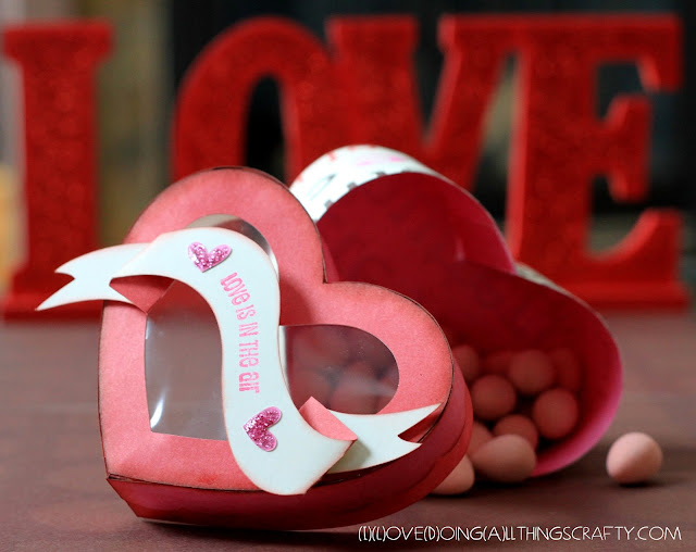 Heart Shaped Treat Box | SVGCuts