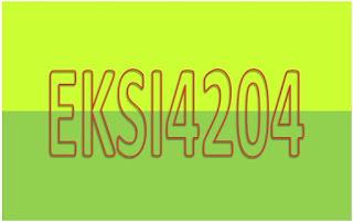 Kunci jawaban Soal Latihan Mandiri Analisis Informasi Keuangan EKSI4204