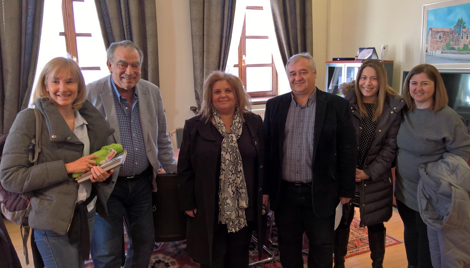 Επίσκεψη στο Δημαρχείο εκπαιδευτικού από τη Γαλλία στο πλαίσιο του Erasmus