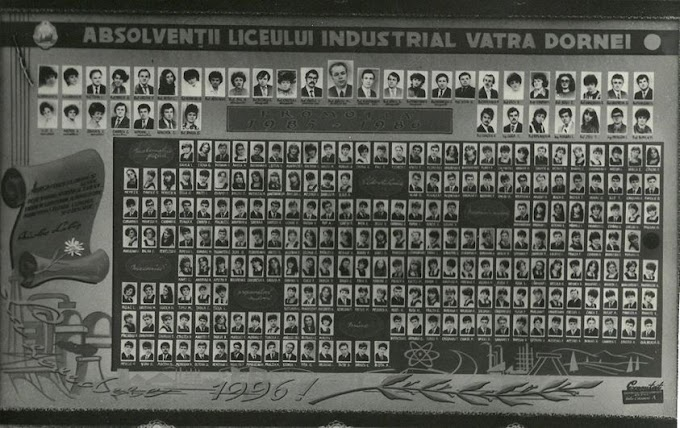 Anunț de revedere pentru Promotia 1986 a Liceului Industrial Vatra Dornei
