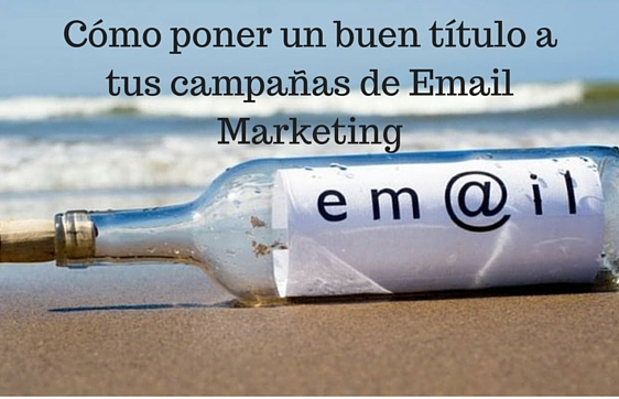 Email Marketing, Título, Campaña, Marketing Digital,