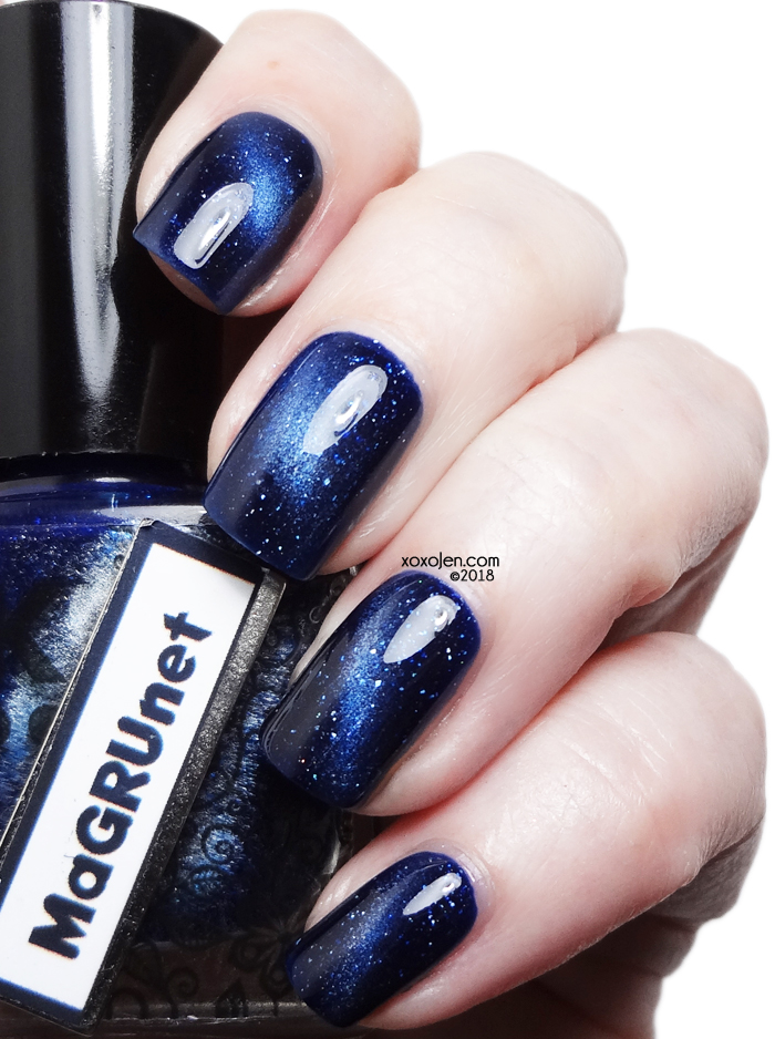 xoxoJen's swatch of DRK Nails Gruum Grumm