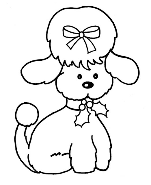 black dog coloring pages - photo#12