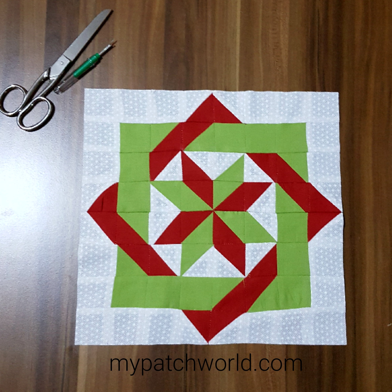Labyrinth Quilt Block Pattern Tutorial All About Patchwork And Quilting
