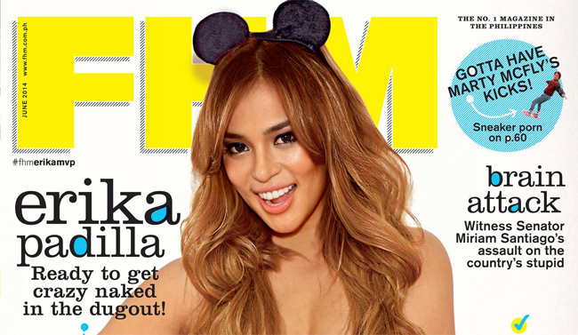 Erika Padilla is Now Trending On FHM covering June 2014 issue