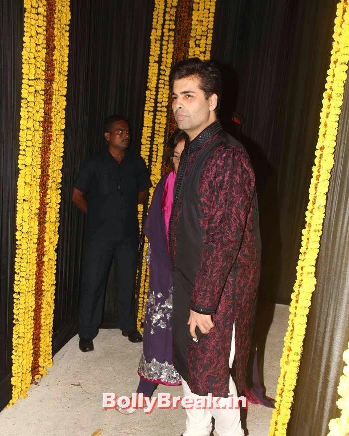 Karan Johar, Photos from Amitabh Bachchan's Diwali Bash 2014