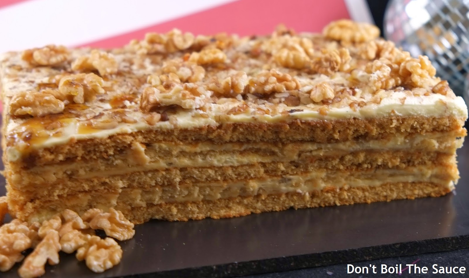 Latvian Honey Layer Cake