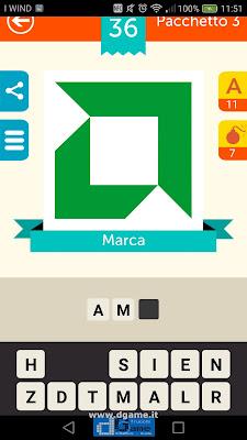 Iconica Italia Pop Logo Quiz soluzione pacchetto 3 livelli 36-50
