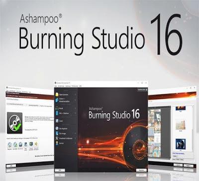 تحميل اقوي واشهر برنامج نسخ وحرق الاسطوانات  Ashampoo Burning Studio 16 من الوليد نت