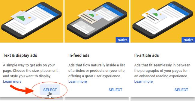 Langkah Detail Membuat Unit Iklan Adsense Full Gambar