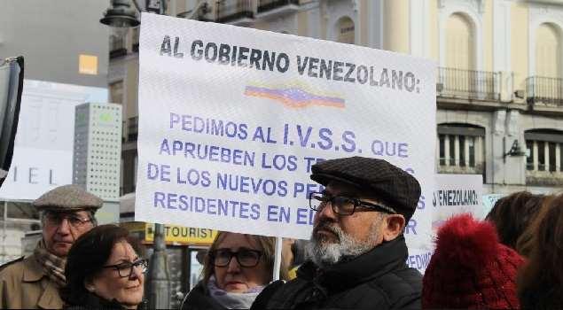 Gobierno de España exige a Venezuela el pago a sus pensionados en ese país