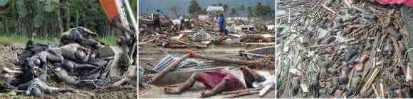 Informasi HAARP: Mayat Tsunami di Aceh yang gosong menghitam