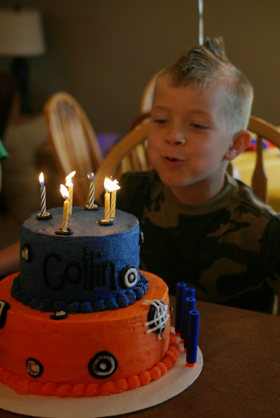 Choose Happy Nerf Themed 6th Birthday Party Highlights
