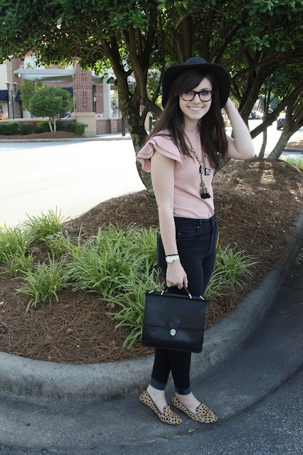 2017, summer, OOTD, how to wear, ruffles, off-the-shoulder, J.Crew, Anthropologie, girly,