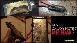Penyebab Samsung Galaxy Note 7 Meledak akhirnya terungkap