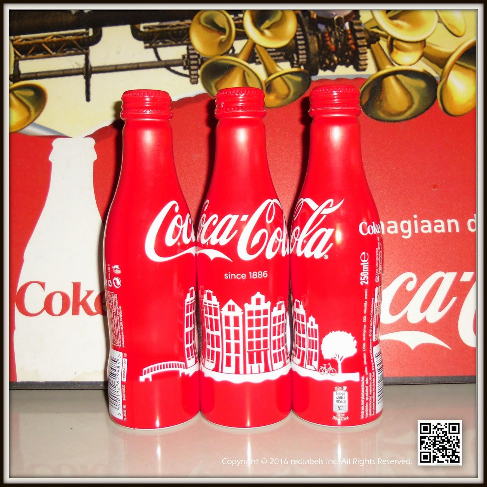 aluminum bottle collector club coca cola amsterdam aluminum bottle 2016 netherlands. Black Bedroom Furniture Sets. Home Design Ideas