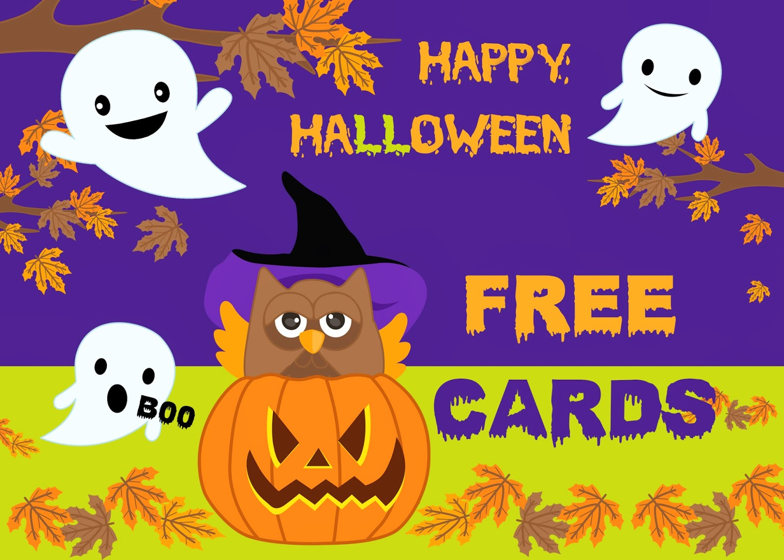 Free Printable Invitation Happy Halloween Free Cards