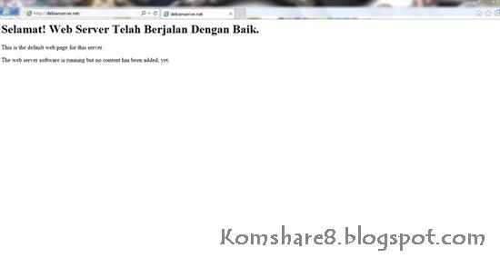 Cara Konfigurasi Bind/DNS Pada Debian Server