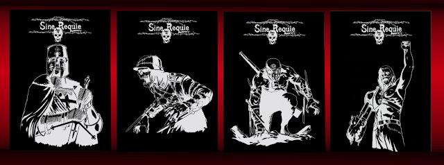 Sine Requie - manuale (ristampa con 4 nuove cover)