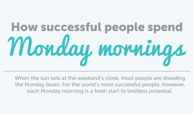 How Successful People Spend Monday Mornings