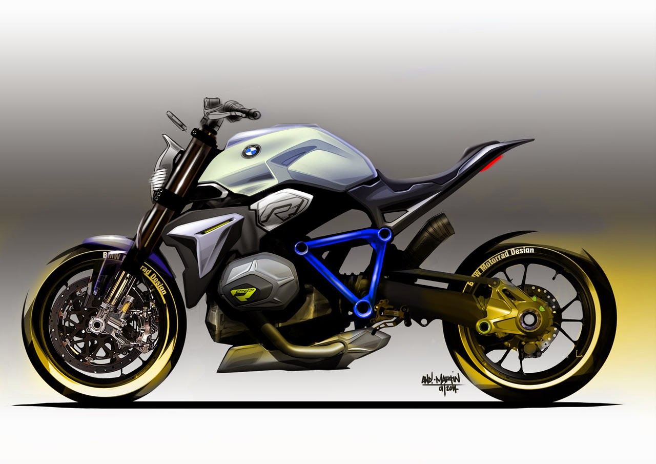 bmw concept roadster motorcycle sketches photos latest auto design. Black Bedroom Furniture Sets. Home Design Ideas