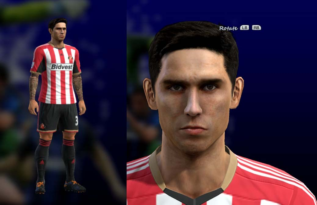Pes 2013 Ricky Alvarez Face and Hair by Facundo - SIMPLE Blog