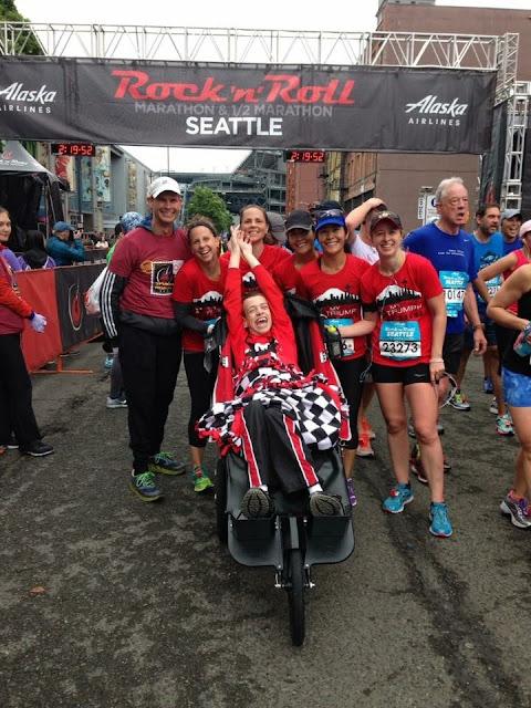 Seattle Rock 'n' Roll Half Marathon MyTeam Triumph Puget Sound