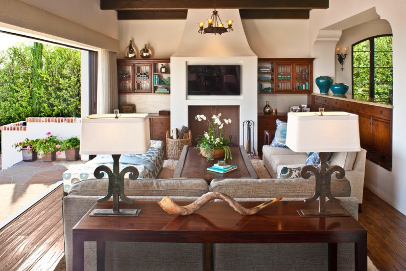 Stylish Living Room Designs In A Mediterranean Style