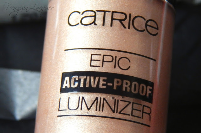 catrice active warrior epic active-proof luminizer 01 work it out! flasche