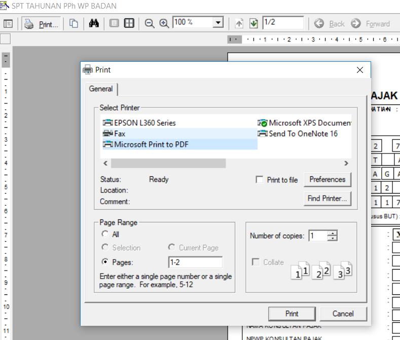 Cara Menyimpan Espt Tahunan Badan Dalam Bentuk File