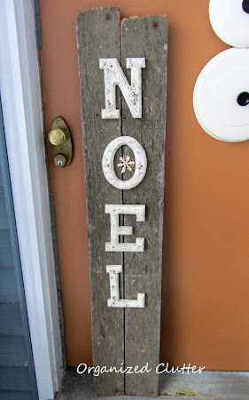 Thrift Shop Letters on Junky Wood Sign