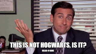 This is not Hogwart's, is it?